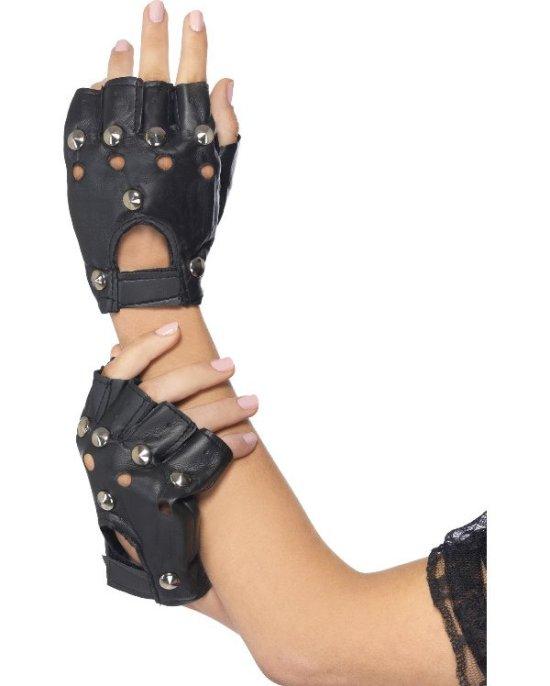 Punk handskar Tillbehor
