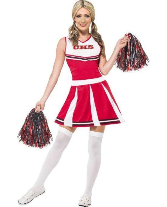 Sot cheerleader Maskeraddrakter
