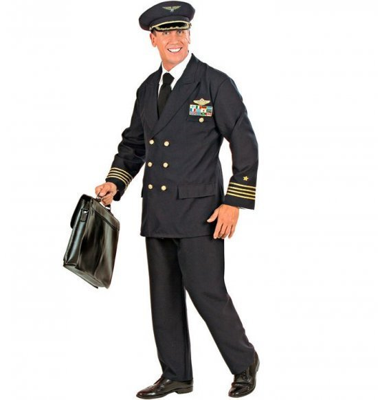 Pilot, man Maskeraddrakter