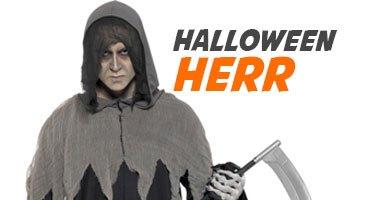 Största utvalg af halloweenkostymer för herr